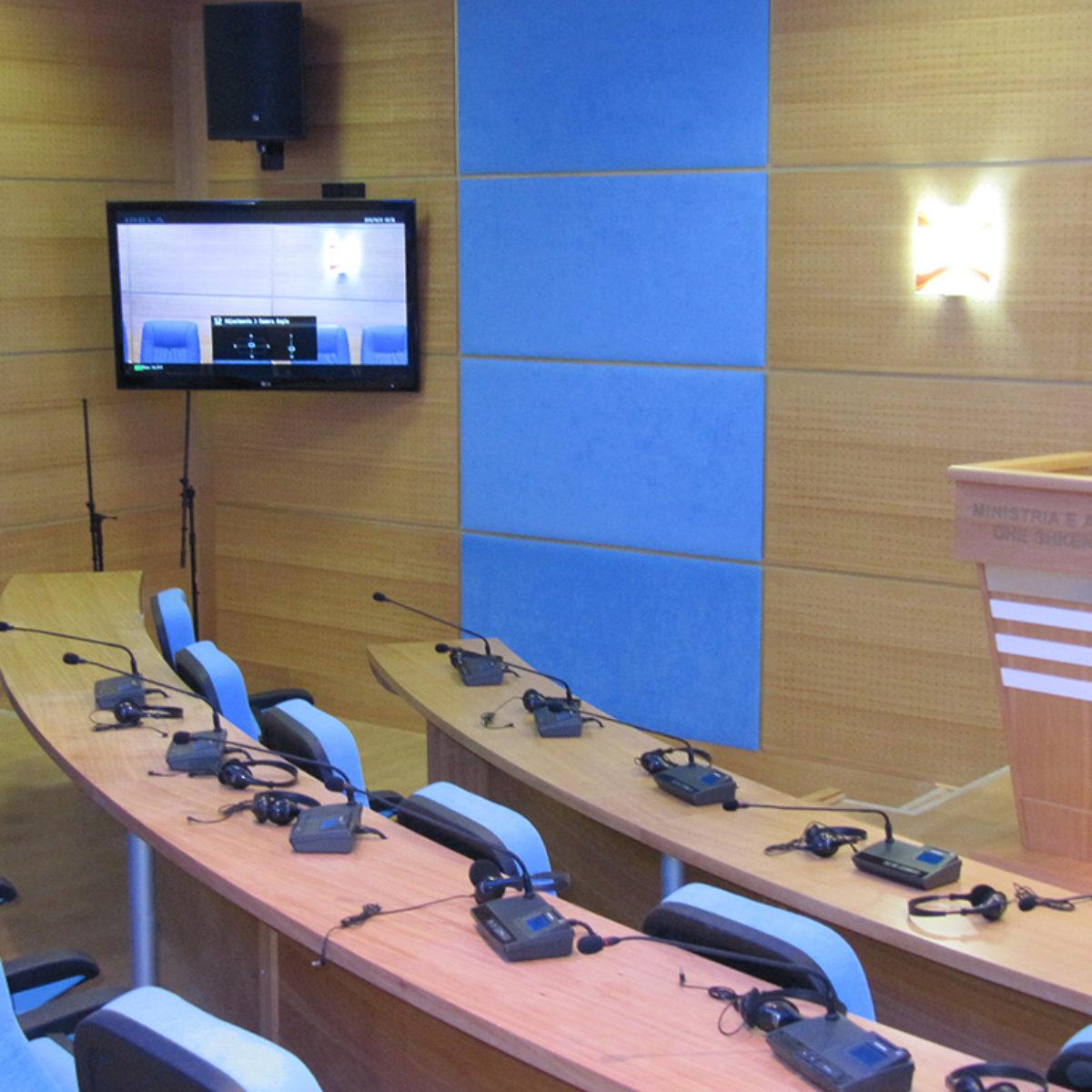 TİKA Konferans Salonu Tiran